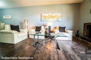 Home Staging Winnipeg- Living Room Carriage Rd